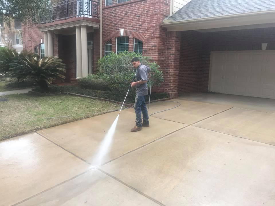 Driveway Pressure Washing is Good for Safety and Liability